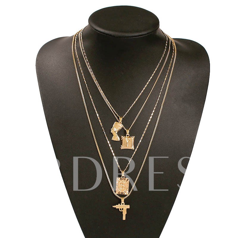 E-Plating Sexy Pendant Necklace