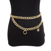 European Female Metal Sexy Waist Chains