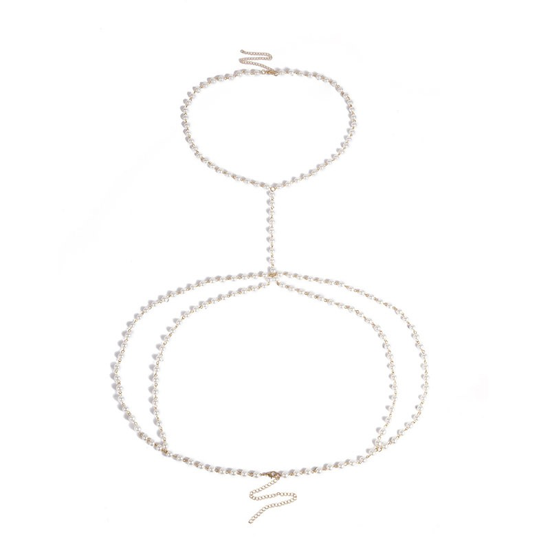 Pearl Sexy Women's Body Chain