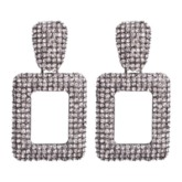Diamante European Plain Drop Earrings