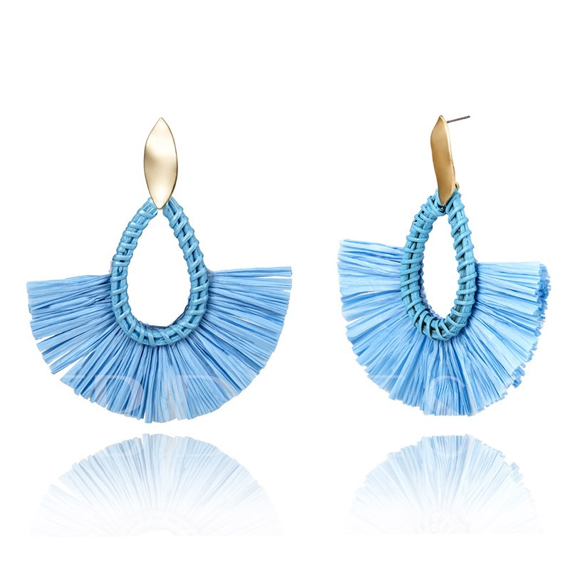 Ethnic Handmade Holiday Drop Earrings