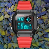 Square Plastic Digital Men's Watches