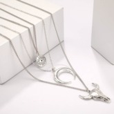European Pendant Necklace E-Plating Holiday Necklaces