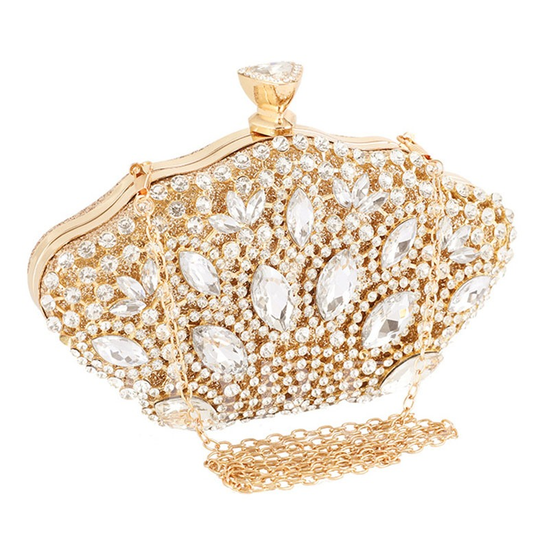Shell Buckle Clutches & Evening Bags