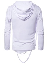 Plain Pullover Thin Men's Hoodies