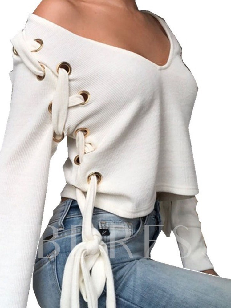 Regular V-Neck Women's Sweater
