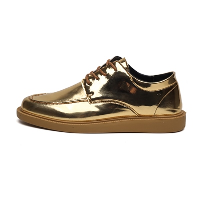 Metallic Low-Cut Upper Round Toe Mens Casual Shoes Metallic Low-Cut Upper Round Toe Men's Casual Shoes