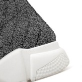 Slip-On Round Toe High Top Sneakers