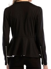 Regular Round Neck Long Sleeve Women's Blouse