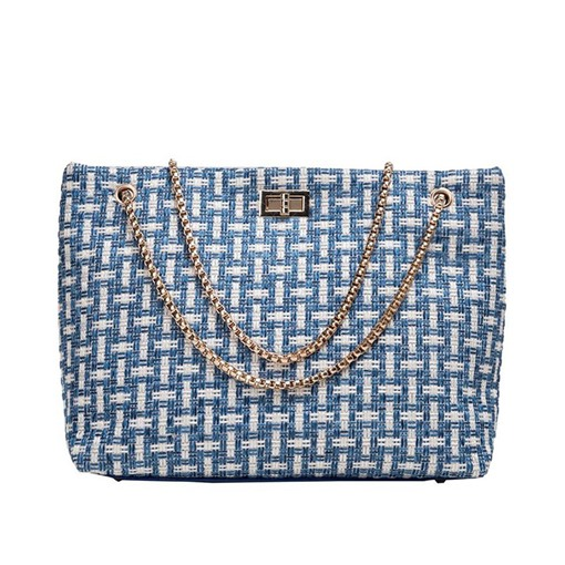 Knitted Rectangle Medium Shoulder Bags