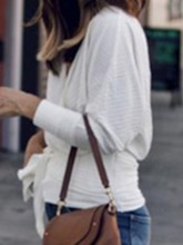 Regular Lace-Up Thin Loose Women's Sweater