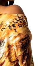Print Leopard Pullover Women's Two Piece Sets