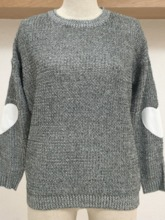 Patchwork Regular Thin Fall Women's Sweater