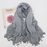 Beading Lace Vintage Cotton Floral Scarves