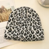 Print Casual Knitted Leopard Hats