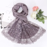 Scarf Vintage Cotton Floral Scarves