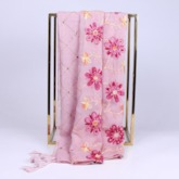 Vintage Embroidery Cotton Floral Scarves
