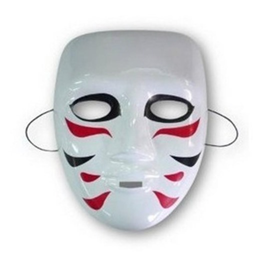 Halloween Party Plastic Cosplay Masks