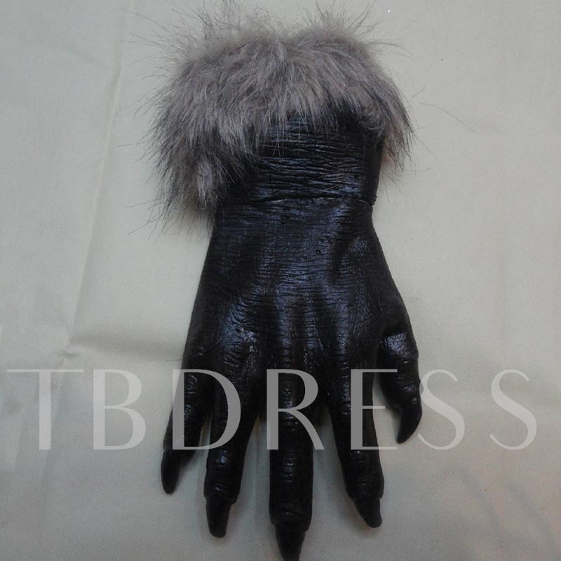 Halloween Leather European Rough Selvedge Cosplay Gloves
