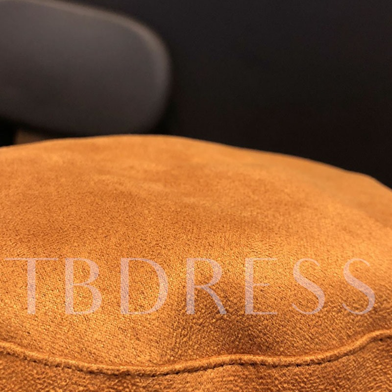 Suede British Sewing Thread Beret Hats