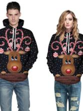 Christmas Pullover 3D Spring Men's Hoodies