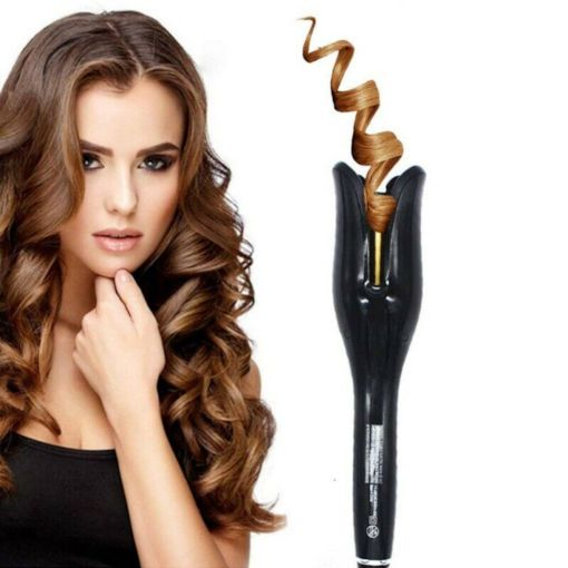 Gold Ceramic Easy To Carry Multifunction Hair Tool