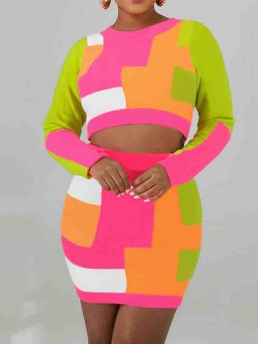 African Fashion Dashiki Print Women's Two Piece Sets