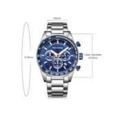 Quartz Hardlex Water Resistant Men's Watches