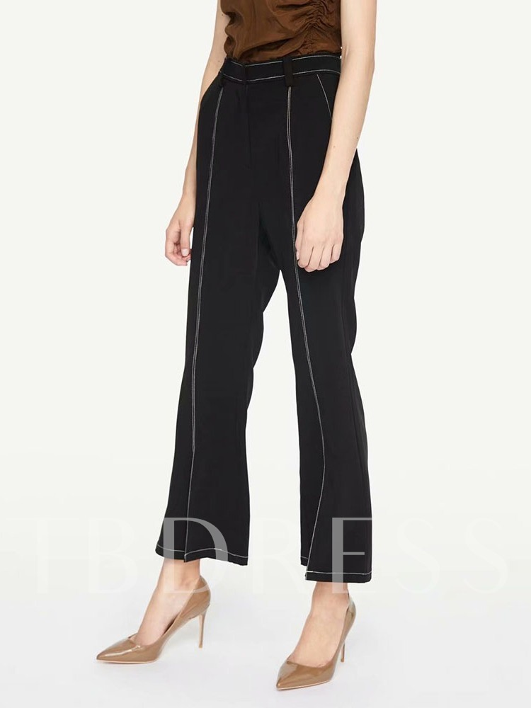 Slim Ankle Length Women's Casual Pants