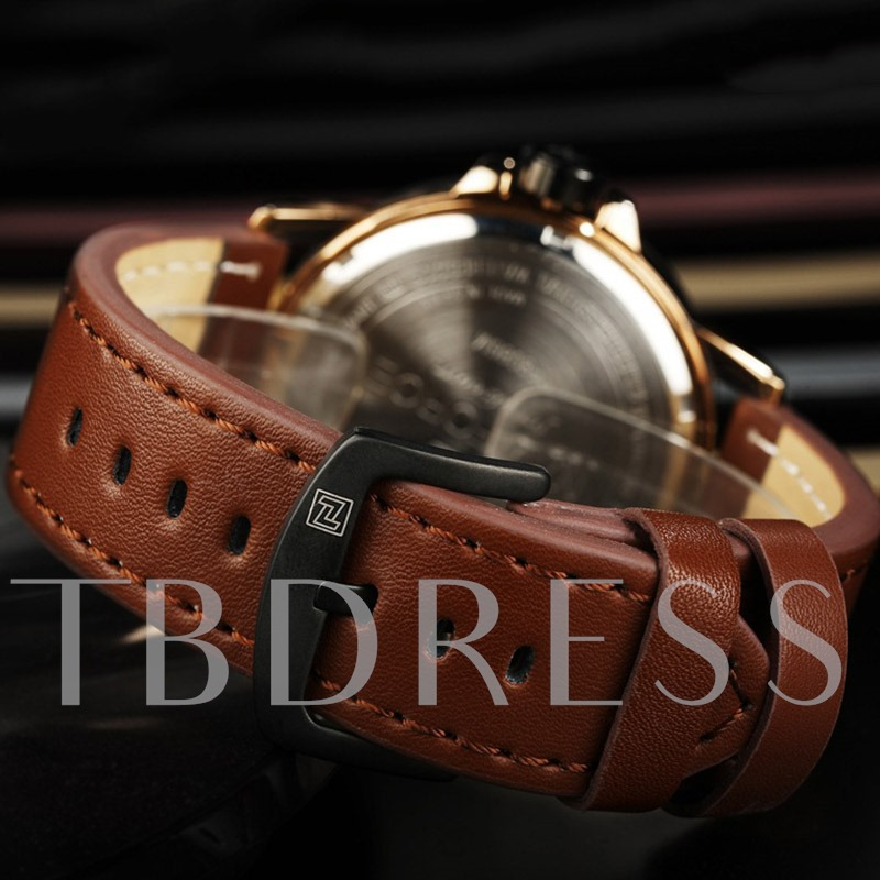 Hardlex Round Water Resistant Men's Watches
