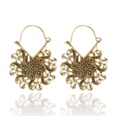 Vintage Alloy E-Plating Party Earrings