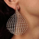 Diamante Alloy European Prom Earring (1PC)