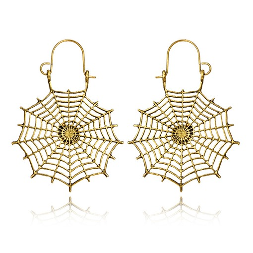 Halloween Hollow Out European Alloy Earrings