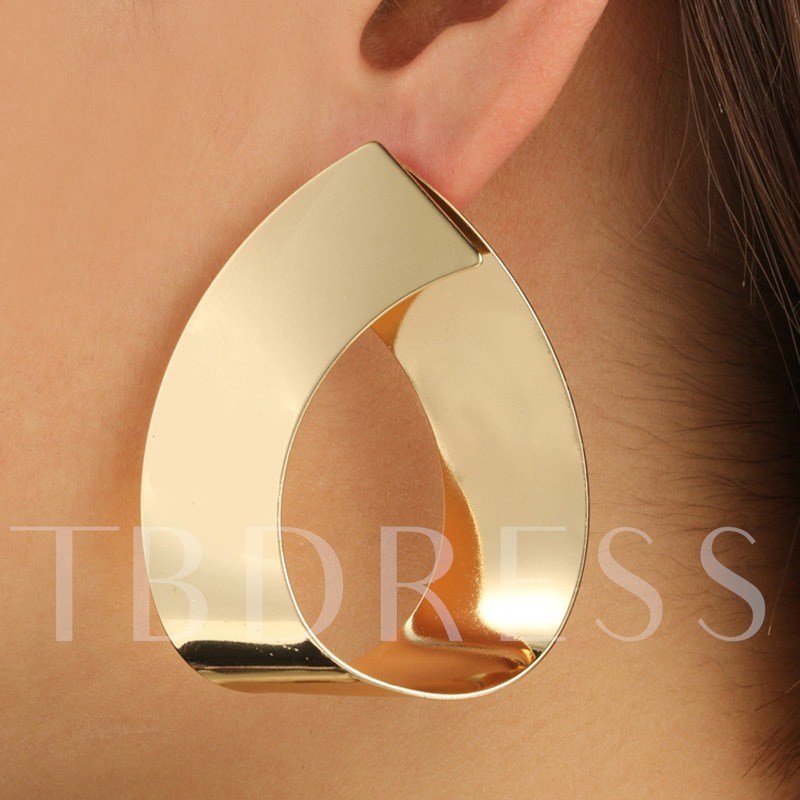 E-Plating European Alloy Anniversary Chic Drop Earrings