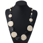 Nigerian Color Block Chain Necklace Female Necklaces