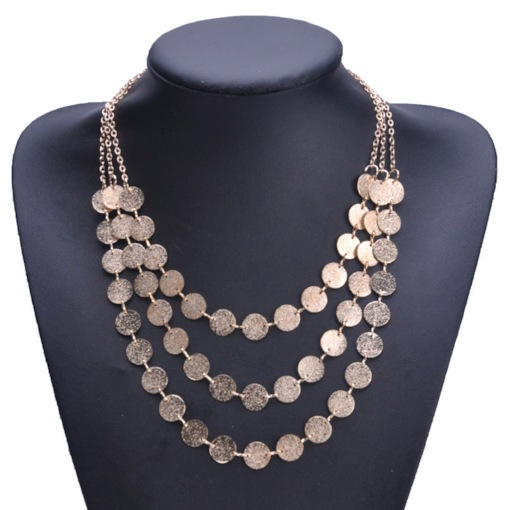 Alloy E-Plating Female Chain Necklace