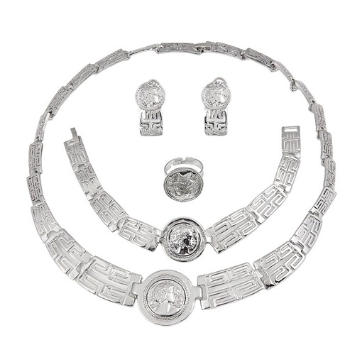 African European Ring E-Plating Birthday Jewelry Sets