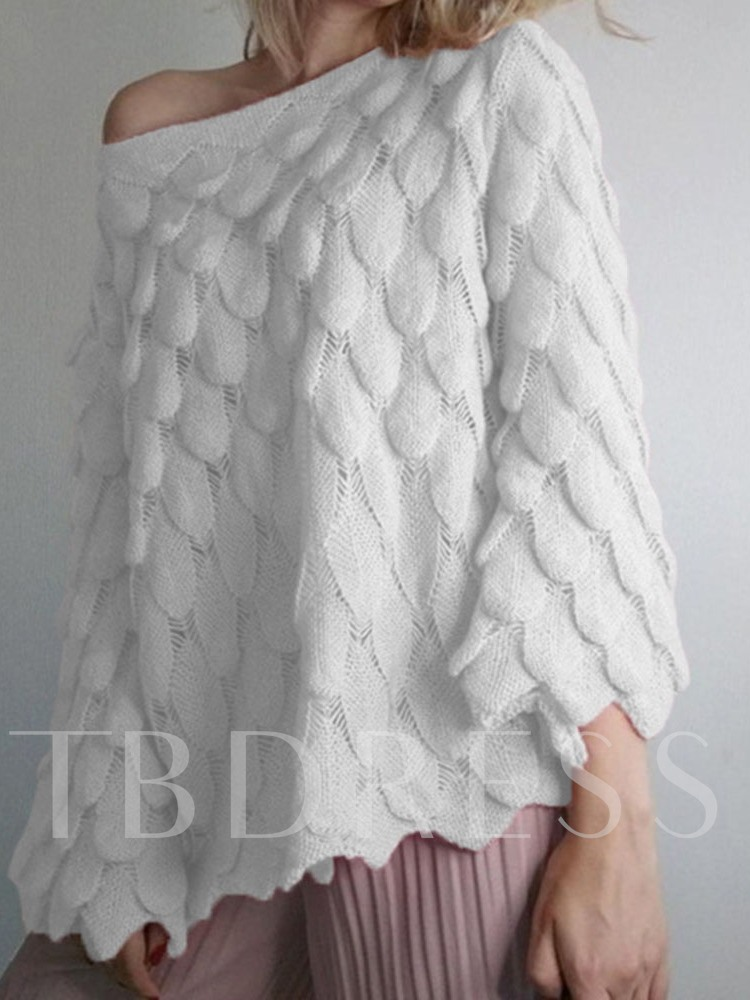 Thin Flare Nine Points Sleeve Loose Women's Sweater