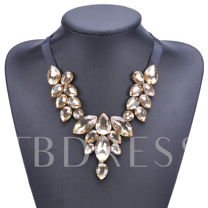 Artificial Gem Pendant Necklace Female Necklaces