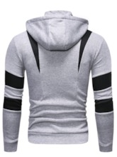 Cardigan Letter Zipper Men's Hoodies