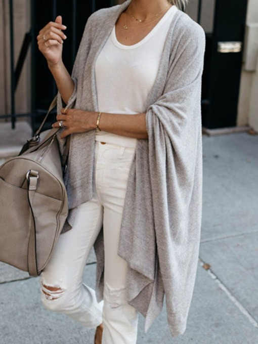 Thin Batwing Sleeve Loose Women's Sweater
