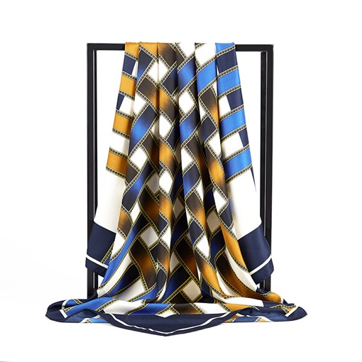 Charmeuse Plaid Prints Women's Scarves