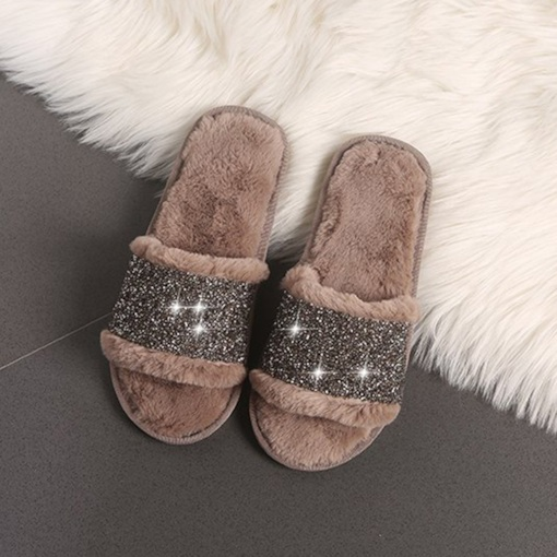 Slip-On Sweet Fluffy Wniter Slippers