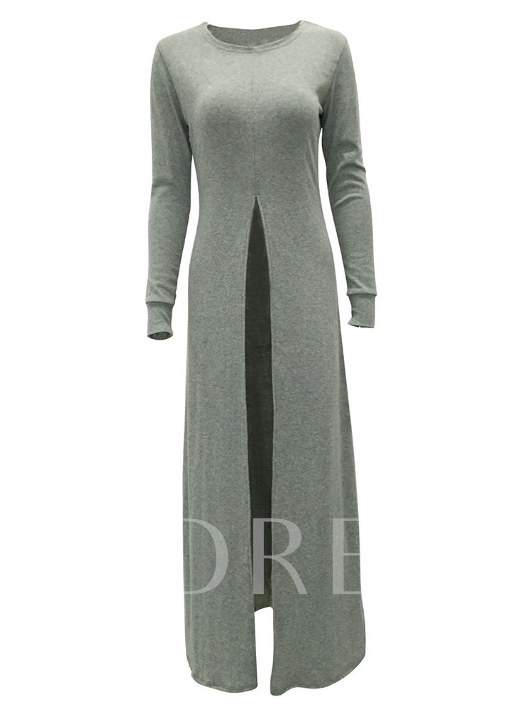 Asymmetric Regular Long Women's Sweater