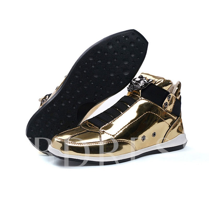 Sports Slip-On Metallic Men's Sneakers