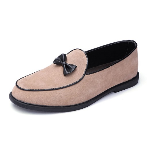 Slip-On Low-Cut oberen Farbblock PU dünne Schuhe