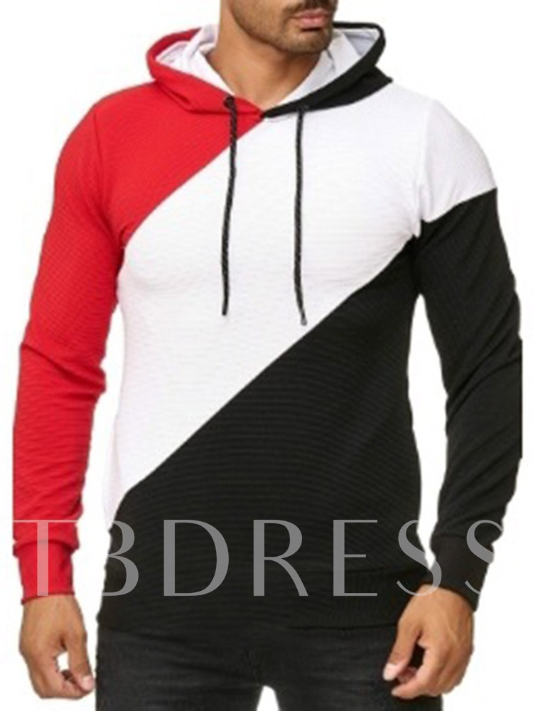 Plain Fleece Pullover Men's Hoodies