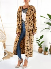 Long Straight Women's Trench Coat