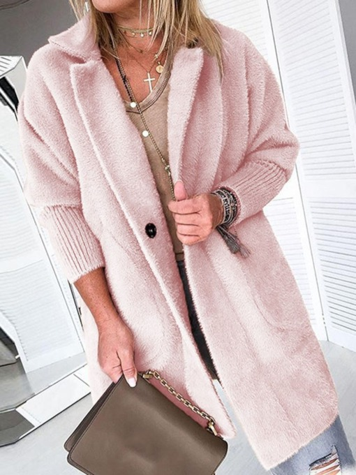 Loose Fashion Worn Women's Overcoat