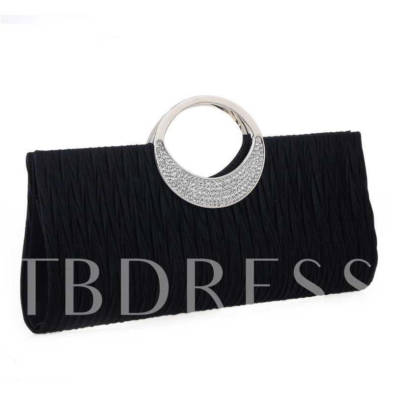 Banquet Satin Rectangle Clutches & Evening Bags